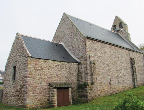 Travaux de couverture sur une Eglise
